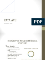 TATA ACE sales and distribution channel strategies