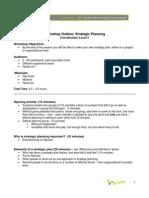 33. Strategic Planning Workshop, CD-2