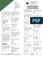 PRIMERA PRACTICA DE ARITMÉTICA-Conjuntos-Numeración-4 operaciones