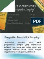 Biostatistika Sampling