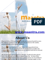 About Maantra
