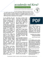 Cosa sta accadendo nel Kivu