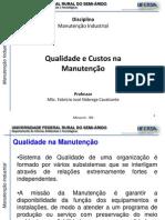 Manutencao Industrial - 1.4-Qualidade e Custos Na Manutencao