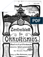 Zentralblatt für Okkultismus 1907