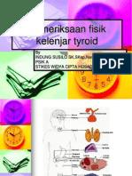 Pemeriksaan Thyroid