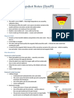 Geography Snapshot Notes DYNPL