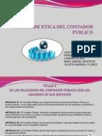 Relaciones Entre Contadores Publicos