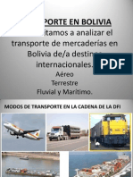 3 Transpote en Bolivia