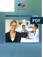 ATM Software Testing Case Study