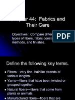 Chapter 44 Fabric Care