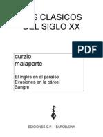 Malaparte, Curzio - Clasicos Siglo 20