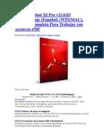 Adobe Acrobat XI Pro v11