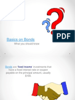 Basics on Bonds