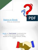 Basics on Bonds