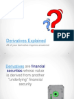 Derivatives Explained