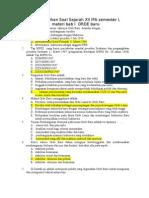 Latihan Soal Sejarah Xii Ipa Semester 1