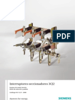 Catalogo Interruptores Seccionadores 3CJ2