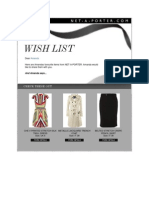Wish List June