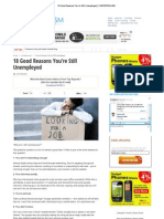 18 Good Reasons of Employment CAREEREALISM