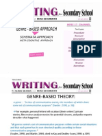 Presentation-teaching Writing for Secondary School