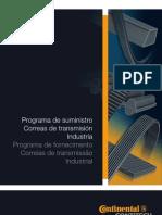 Catalogo de Correias Contitech Catalogo de Correias Industriais
