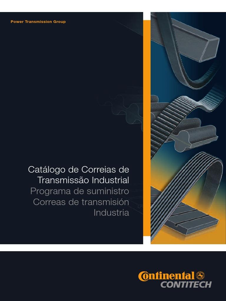 Catálogo de Correias de Transmissão Industrial: Programa de