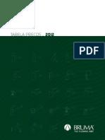 Bruma Tabela 2012