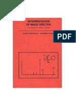 Interpretation of Mass Spectra-4Ed