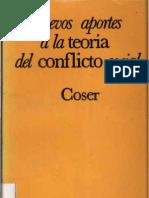 Coser Lewis_Nuevos Aportes a La Teoria Del Conflicto Social