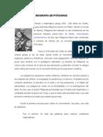 Biografia de Pitagora