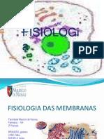 Slide Fisiologia Das Membranas