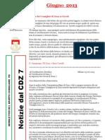 Newsletter di GIUGNO 2013 del Gruppo Consiliare PD di Zona 7-Milano