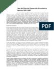 7370188 Plan de Desarrollo Economico y Social de La Nacion 20012007