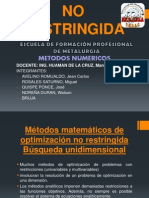 OPTIMIZACION NO RESTRINGIDA.pptx