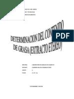 Informe 3 Grasa