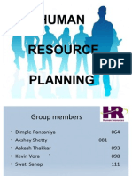 36688900 Human Resource Planning