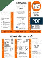 Disability Action Hall Brochure 2013