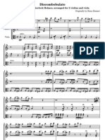 Discombobulate- arranged for string trio