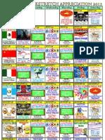 Backstretch Calendar 2013