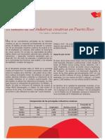Tamaño de las industrias creativas en Puerto Rico - Javier Hernández
