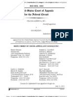 13-07-22 Google Reply Brief in Oracle's Copyright Appeal