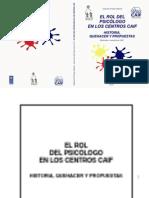 El Rol Dle Psicologo en Los Cnetros CAIF