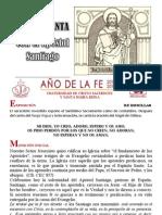 Hora Santa en la fiesta del Apóstol Santiago