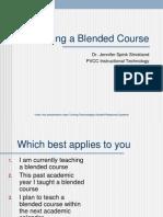 Blended Learnin Design