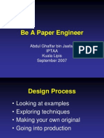 Be a Paper Engineer