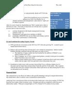 Vera Bradley Investment Memorandum - 7-20-13