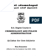 BA Criminology