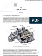 Caja de Cambios D.S.G. (Direct Shift Gearbox)