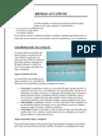 Biomas Acuaticos y Terresres