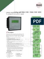 EMA1101_Mains Monitoring System